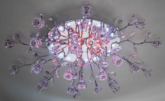 Фото №7 Люстра потолочная со светодиодной подсветкой 80115/23
