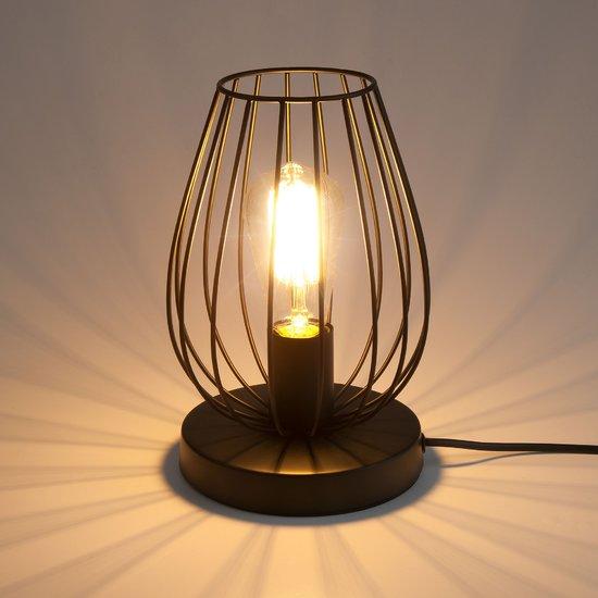 Фото №3 Настольная лампа в стиле лофт 01013/1 черный