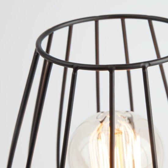 Фото №4 Настольная лампа в стиле лофт 01013/1 черный