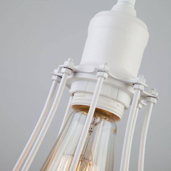 Фото №5 Подвесной светильник в стиле лофт 50065/1 белый