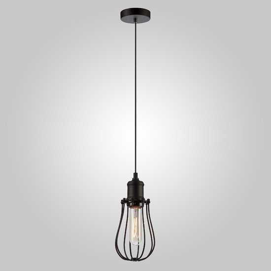 Подвесной светильник в стиле лофт 50064/1 черный фото