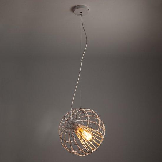 Фото №3 Подвесной светильник в стиле лофт 50061/1 белый