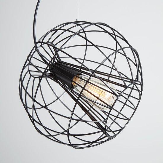 Фото №3 Подвесной светильник в стиле лофт 50060/1 черный