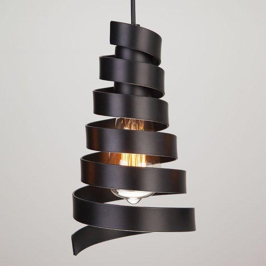 Фото №3 Подвесной светильник в стиле лофт 50058/3 черный