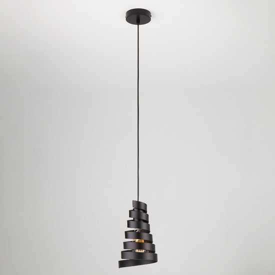 Фото №2 Подвесной светильник в стиле лофт 50058/1 черный
