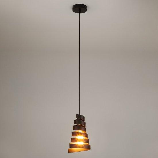 Фото №3 Подвесной светильник в стиле лофт 50058/1 черный