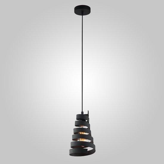 Фото №4 Подвесной светильник в стиле лофт 50058/1 черный