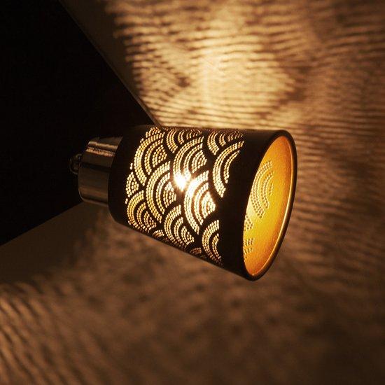 Фото №4 Потолочный светильник с поворотными плафонами 20061/4 черный