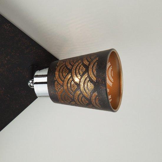 Фото №5 Потолочный светильник с поворотными плафонами 20061/4 черный