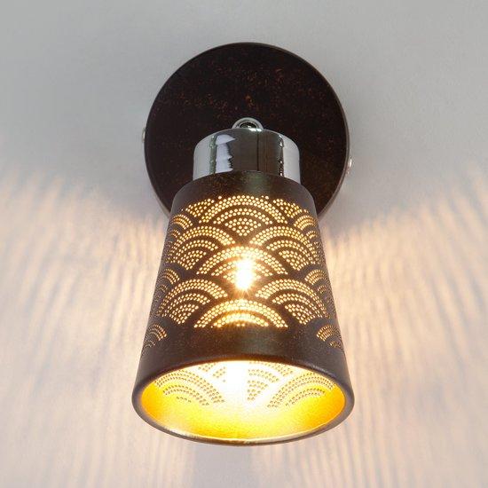 Фото №3 Настенный светильник с поворотным плафоном 20061/1 черный