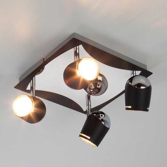 Потолочный светильник с поворотными плафонами 20057/4 фото