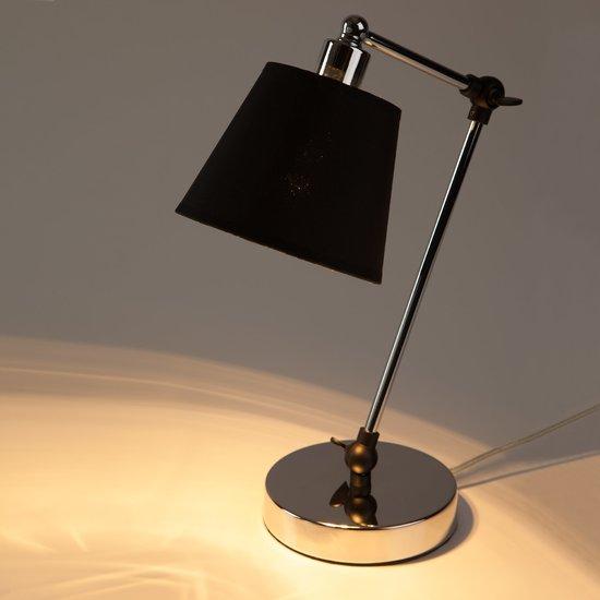 Фото №4 Настольная лампа в стиле лофт 01015/1 хром