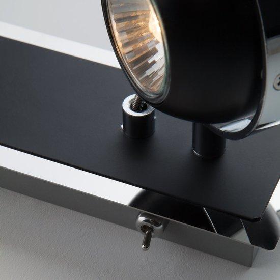 Фото №5 Настенный светильник с поворотными плафонами 20056/2 черный