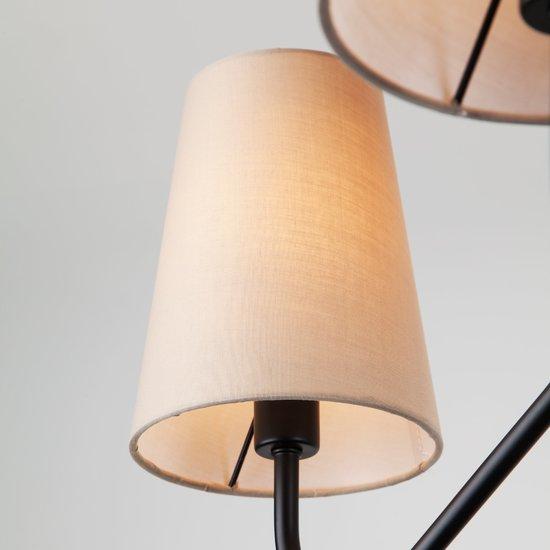 Фото №6 Подвесной светильник в стиле лофт 70060/6 черный