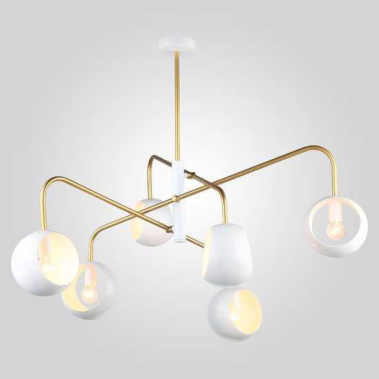 Фото №2 Подвесной светильник в стиле лофт 70055/6 белый