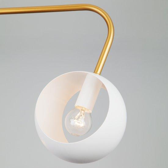 Фото №3 Подвесной светильник в стиле лофт 70055/6 белый