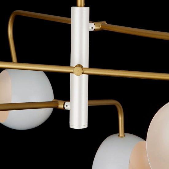 Фото №5 Подвесной светильник в стиле лофт 70055/6 белый