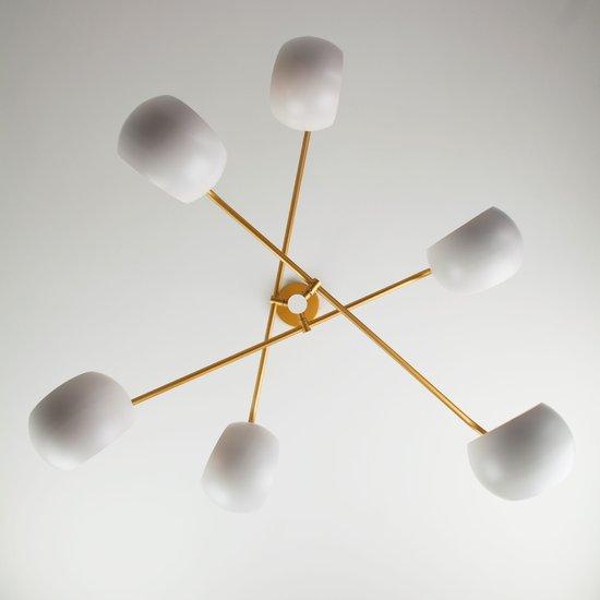 Фото №6 Подвесной светильник в стиле лофт 70055/6 белый