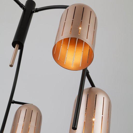Фото №4 Подвесной светильник в стиле лофт 70054/6 перламутровое золото