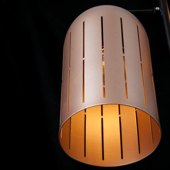 Фото №6 Подвесной светильник в стиле лофт 70054/6 перламутровое золото