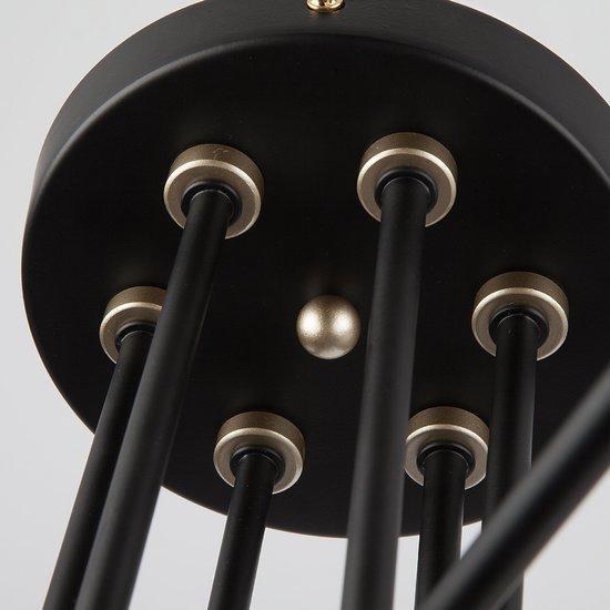 Фото №9 Потолочный светильник с поворотными рожками 70052/6 черный/золото