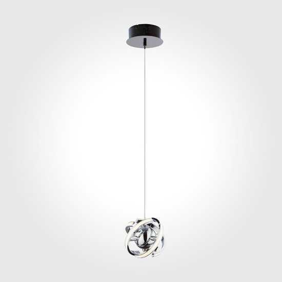 Светодиодный подвесной светильник 90057/1 хром фото