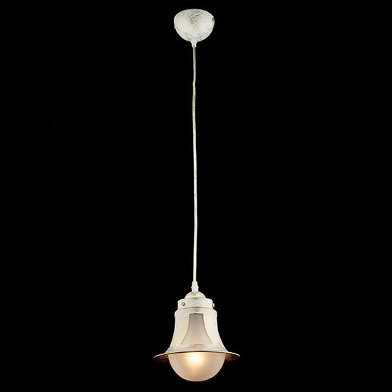 Фото №3 Подвесной светильник 50055/1 белый с золотом
