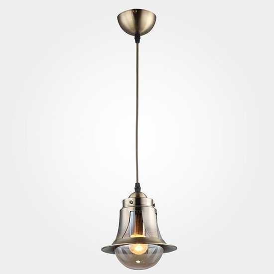 Подвесной светильник 50055/1 античная бронза фото