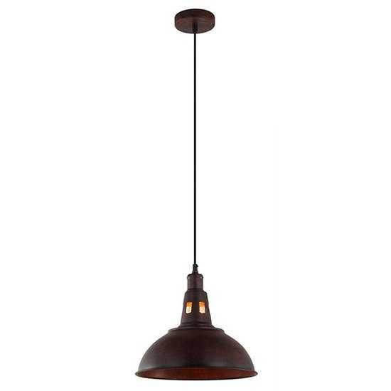 Подвесной светильник 50052/1 патинированный черный фото