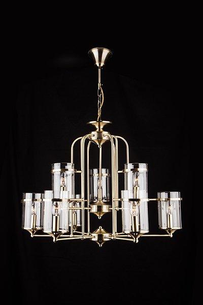 Фото №3 Подвесная люстра в стиле лофт 60040/9 античная бронза