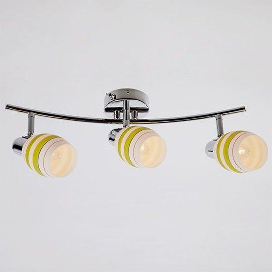 Фото №4 Настенный светильник с поворотными плафонами 20055/3 хром