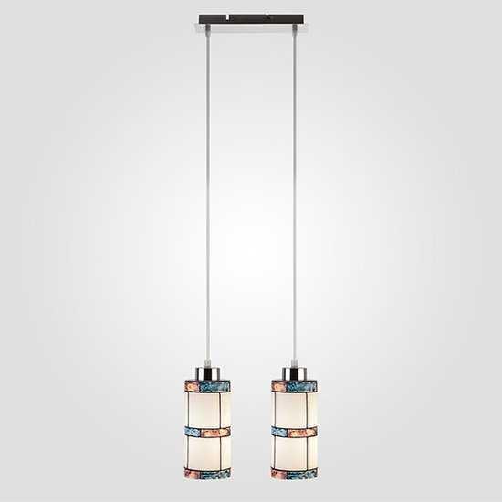 Подвесной светильник 50043/2 хром фото