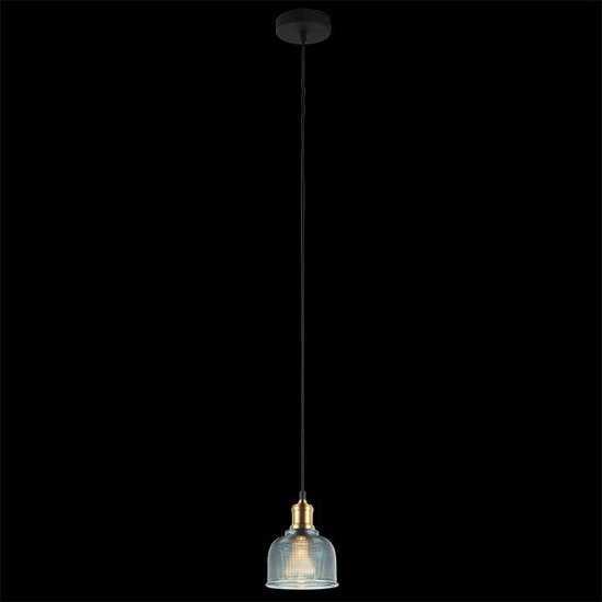 Подвесной светильник 50028/1 голубой фото
