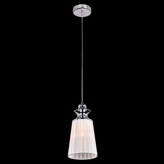 Подвесной светильник 50014/1 хром фото