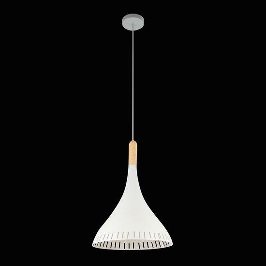 Фото №3 Подвесной светильник 50074/1 белый/светлое дерево