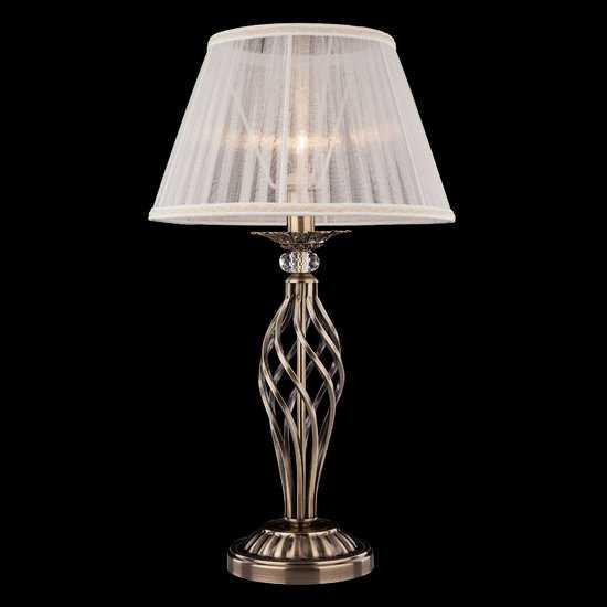 Фото №2 Настольная лампа 01002/1 античная бронза
