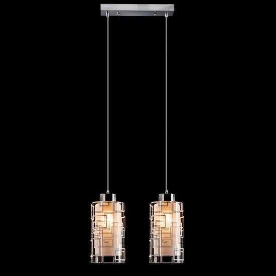 Подвесной светильник 50002/2 хром фото