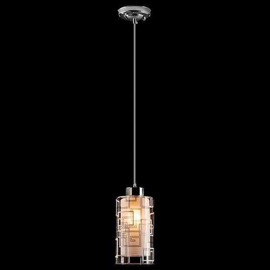 Подвесной светильник 50002/1 хром фото