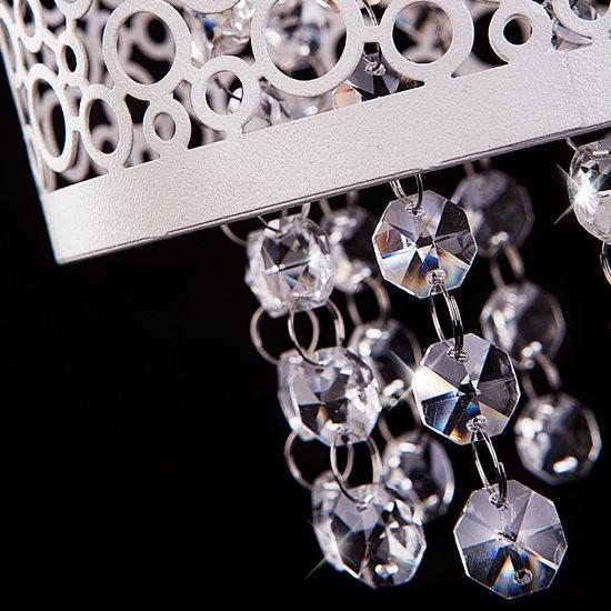 Фото №3 Подвесной светильник с хрусталем 1181/2 хром