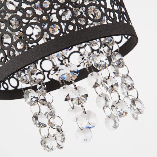 Фото №4 Подвесной светильник с хрусталем 1180/3 хром
