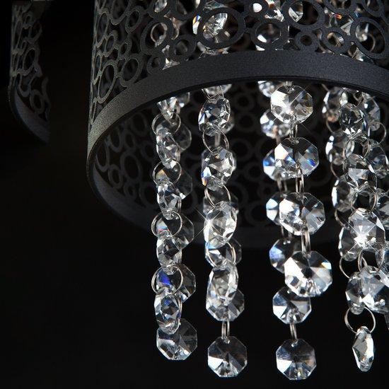 Фото №4 Подвесной светильник с хрусталем 1180/2 хром