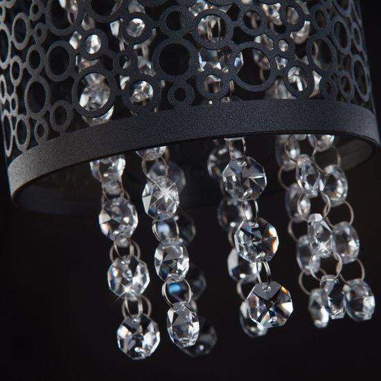 Фото №5 Подвесной светильник с хрусталем 1180/1 хром