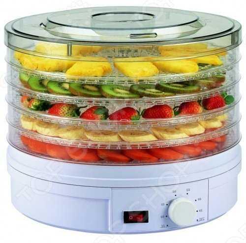 Сушилка для овощей и фруктов 250Вт Delta DL-6801 фото
