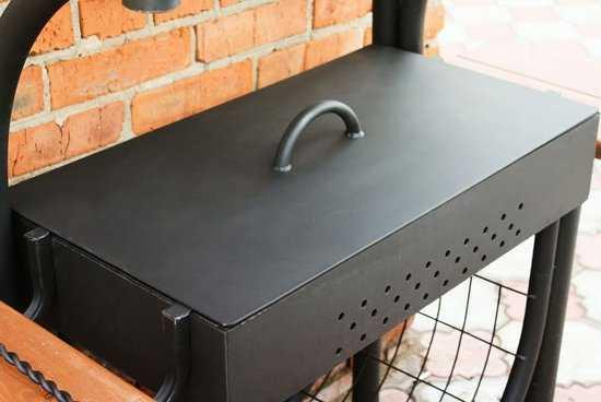 Крышка для мангала КМ-1 фото