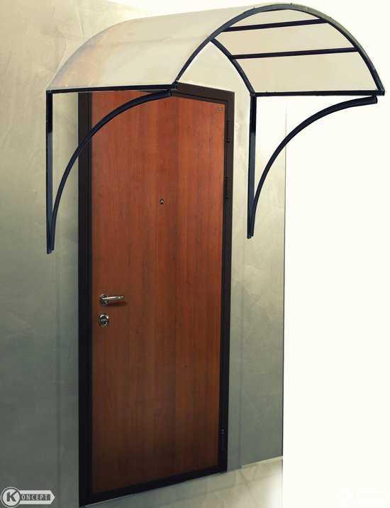 Козырек на входную дверь №2 фото