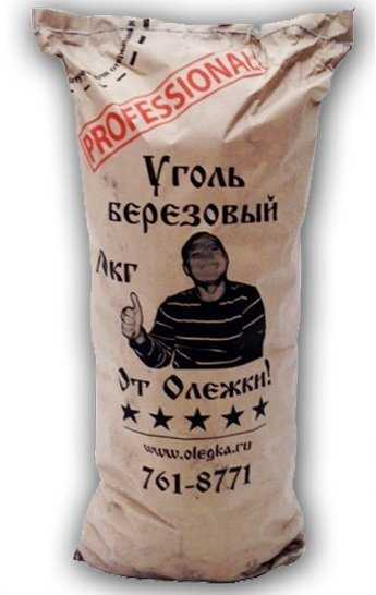 Уголь берёзовый 10кг PROFESSIONAL фото