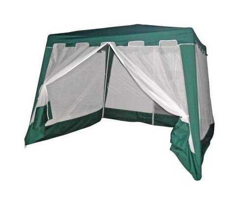 Садовый шатёр 3х3 с москиткой WS-G03 фото
