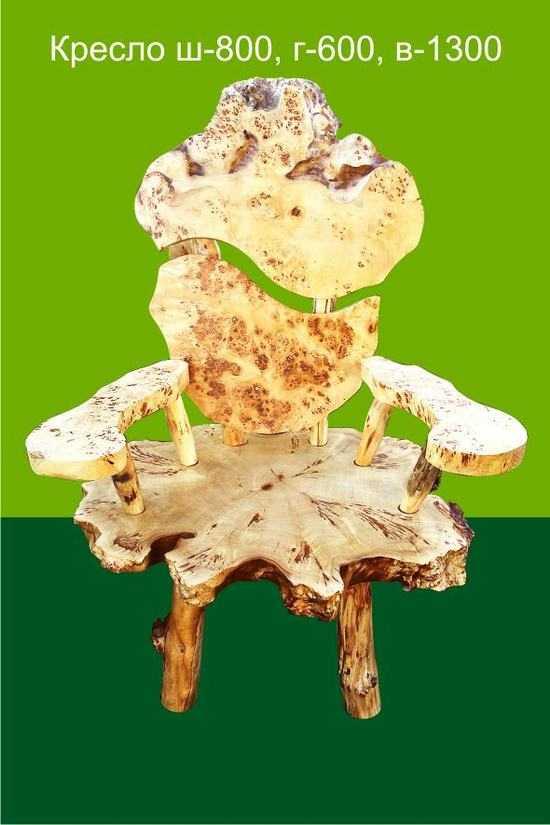 Кресло из Тополя фото
