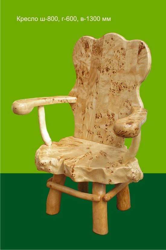 Кресло из Тополя # 2 фото