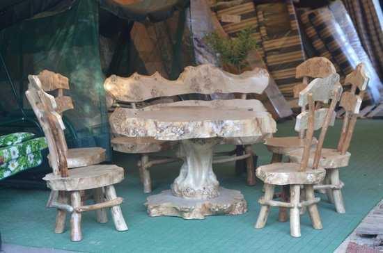 Набор мебели из Тополя фото